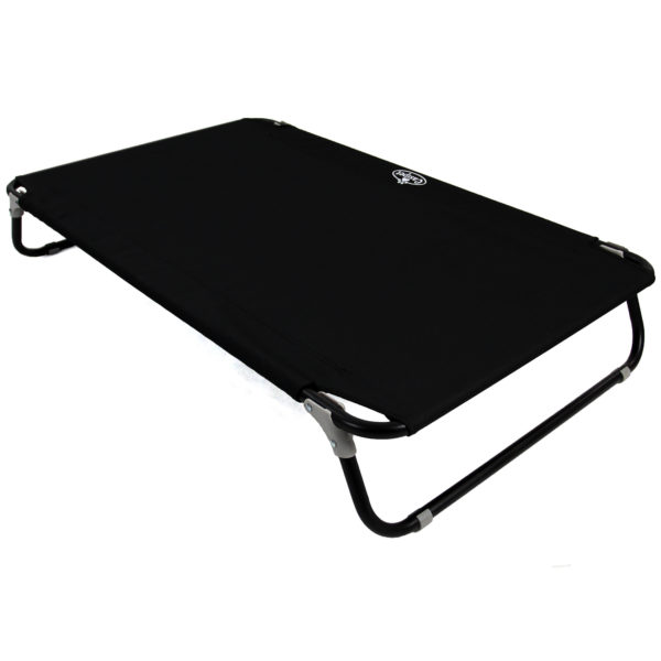 Elavated Pet Cot Black