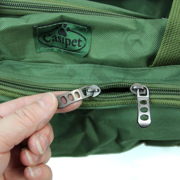 Carp Coarse Fishing Tackle Fish Bag Green Carryall Holdall Carry Strap Easipet 67166