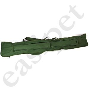3+3 12ft Fishing Rod Reel Bag Made Up Carp Coarse Padded Fishing Tackle Holdall 67167